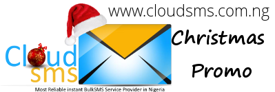 CloudSMS Christmas Promo
