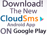 Download CloudSMS Android App